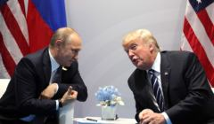 Vladimir Putin i Donald Trump podczas szczytu G20 w Hamburgu (cc) Kremlin.ru