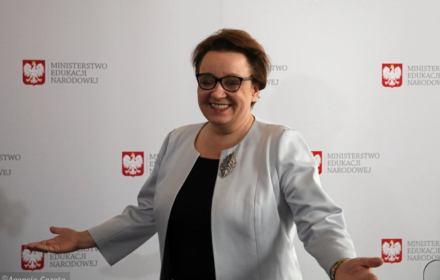 Zalewska: wszyscy uważają, że reforma się udała i tylko złośliwcy mówią o sukcesie gimnazjalistów