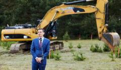 Wicepremier Morawiecki rozpoczecie inwestycji w ramach Mieszkanie Plus w Gdyni