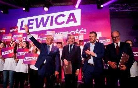 """""""Ole, Olek!"""": Kwaśniewski mobilizuje elektorat Lewicy i wzywa, by przewietrzyć Polskę"""