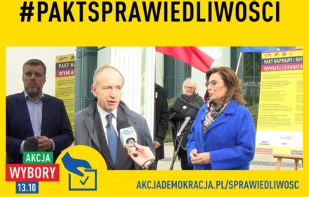 Lewica, KO i PSL podpisały Pakt dla Praworządności