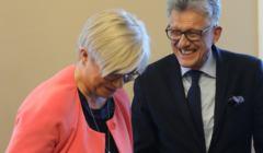 Julia Przyłębska i Stanisław Piotrowicz