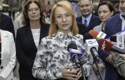 """Małgorzata Tracz, Zieloni: """"Nie popieram polityki w stylu: jak coś nie zostanie spełnione, to wychodzę"""""""