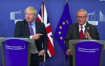 Boris Johnson, Jean-Claude Juncker, 17 października 2019