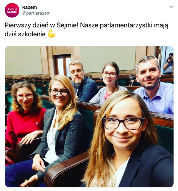 Razem, 23 października 2019, Sejm