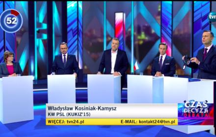 debata TVN24, 8 października 2019