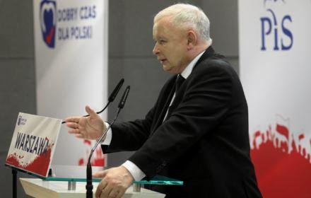 Kaczyński: PO-PSL ukradło 400 miliardów, a Banaś odzyskał 200. Niestety, to brednie