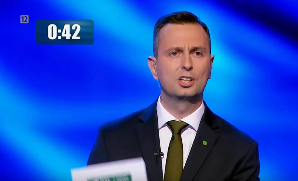 Władysław Kosiniak-Kamysz, debata przedwyborcza TVP, 1 października 2019