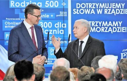 """Morawiecki: zmieniliśmy politykę społeczną na taką, jakiej chciała """"S"""". Sprawdziliśmy. Nie bardzo"""