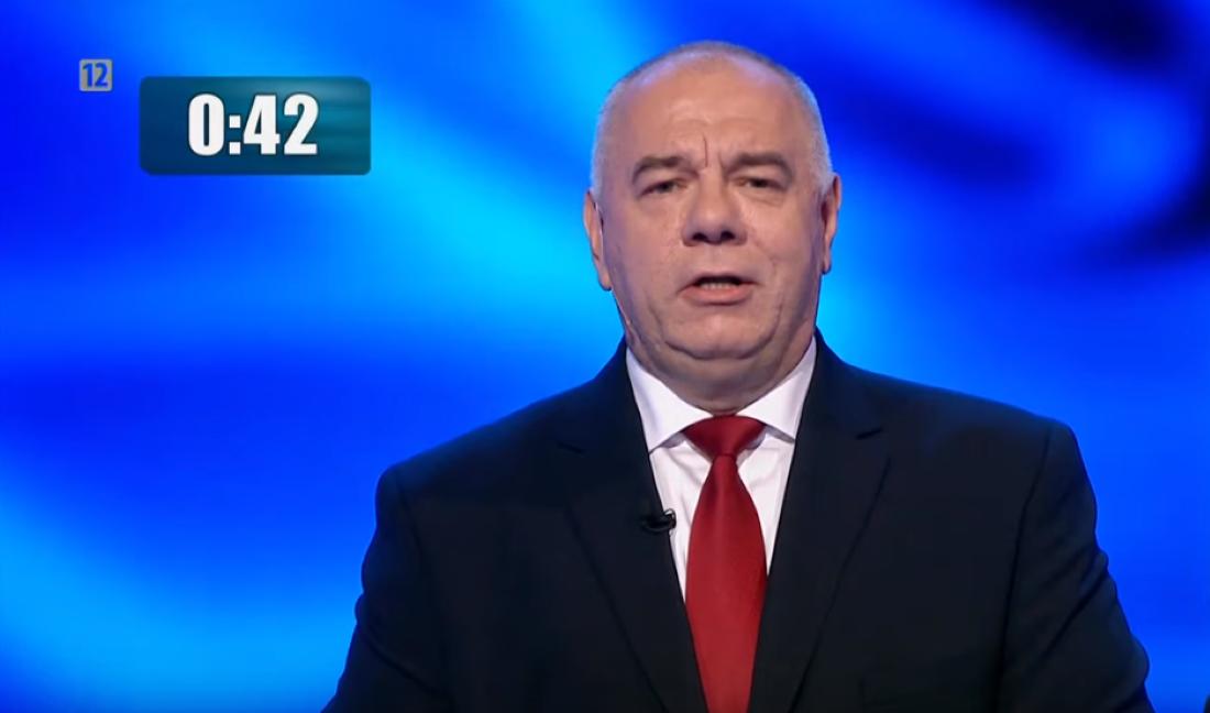 Jacek Sasin, debata przedwyborcza TVP, 1 października 2019