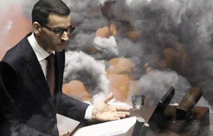 """Wstydliwe słowo na """"w"""" i chmury nad """"Czystym Powietrzem"""". Eko-exposé Morawieckiego"""