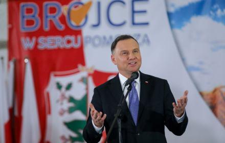 Prezydent Duda w Brojcach 20.11.2019 / fot. Kancelaria Prezydenta