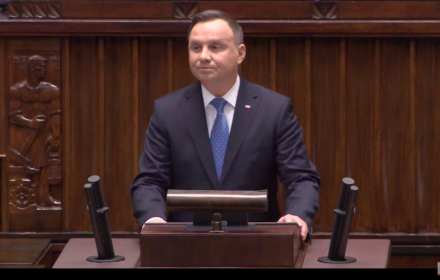 Andrzej Duda, inauguracyjne posiedzenie Sejmu, 12 listopada 2019