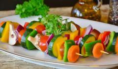 Szaszłyki warzywne,