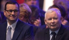 Mateusz Morawiecki i Jaroslaw Kaczynski