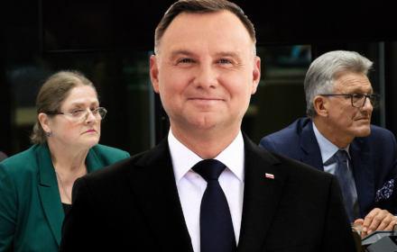 Sekret Dudy. Prezydent ukrywa zdjęcia ze ślubowania Pawłowicz i Piotrowicza na sędziów TK