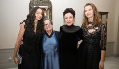 Agnieszka Holland , Iryna Wikyrczak , Olga Tokarczuk i Anna Wanik