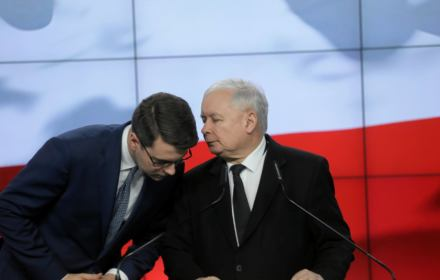 Kolejny sondaż potwierdza trend. Kaczyński jeszcze duży, ale już nie tak. Banaś zjadł mu 56 mandatów