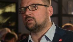 Wybory samorzadowe 2018 - wieczor wyborczy w sztabie SLD w Warszawie
