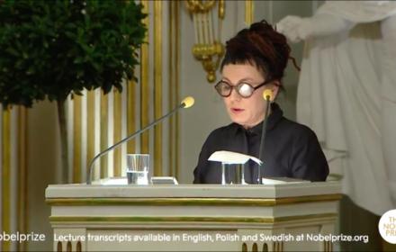 Olga Tokarczuk, wykład noblowski, 7 grudnia 2019, Sztokholm