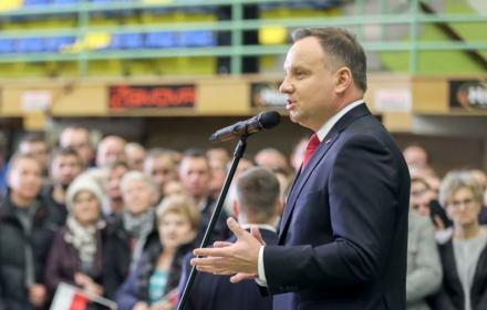 Prezydent Duda w Nowym Mieście Lubawskim, 11 grudnia 2019
