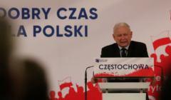 Jarosław Kaczyński, chaos w sądach