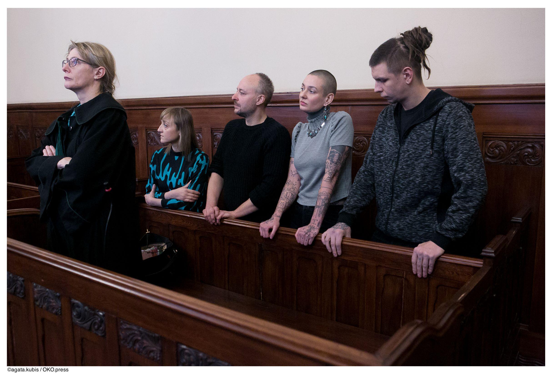 czwórka skazanych