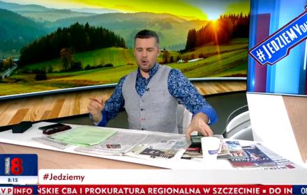 W TVP Rachoń zestawia Gretę Thunberg z Hitlerem. OKO.press podpowiada: zapomniał pan o Janie Pawle II