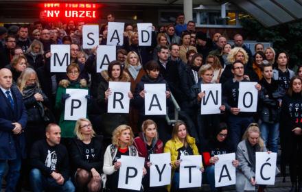 73 sędziów złożyło na siebie donos do prezeski z nadania Zbigniewa Ziobro