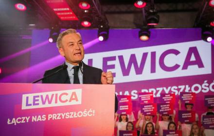 Wiceszef SLD: Robert Biedroń będzie w drugiej turze