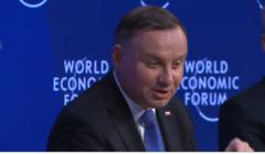 Andrzej Duda, Davos, debata o przyszłości NATO