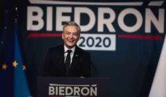 Konwencja Roberta Biedronia w Slupsku .