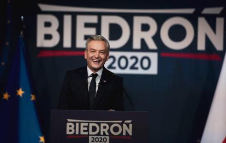 Uśmiechnięte państwo dobrobytu. Robert Biedroń chce być prezydentem odważnej i otwartej Polski