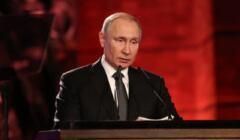 Władimir Putin w Yad Vaszem, 23 stycznia 2020