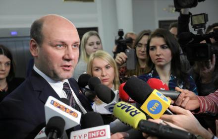 Konferencja prasowa MSZ