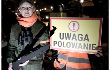 PSL poprze w Senacie więzienie za utrudnianie polowań. Wajrak apeluje o odrzucenie ustawy, na ulicach protesty