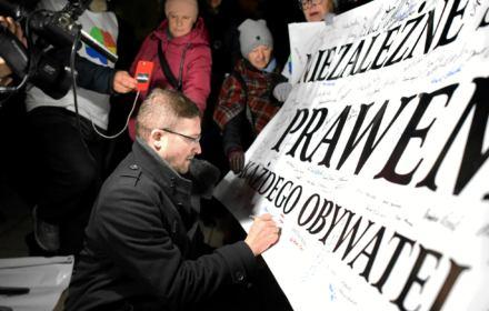 Sędzia Paweł Juszczyszyn, Olsztyn , grudzień 2019