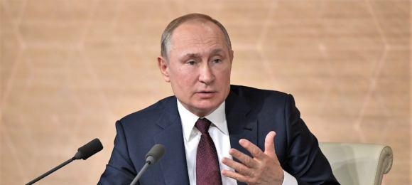 Władimir Putin, konferencja prasowa 19 grudnia 2019
