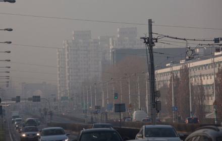 Smog na ulicach Wrocławia