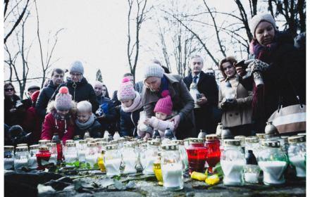 Nacjonaliści chwalili dowódcę oddziału ludobójców, Hajnówka uczciła ofiary