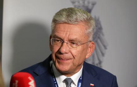 Karczewski: Pacjenci zadowoleni, onkologia ma się świetnie, a TVP jest obiektywna