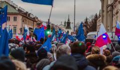 Marsz Tysiąca Tóg fot. A. Bodak / OKO.press