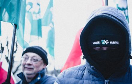 Nacjonaliści znów idą czcić Burego i grożą rozprawą Hajnówce. Jest zgłoszenie do prokuratury