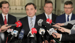 Zbigniew Ziobro, Marcin Warchol, Michal Wojcik, Sebastian Kaleta