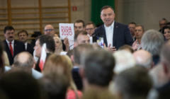 Prezydent Andrzej Duda w Turku