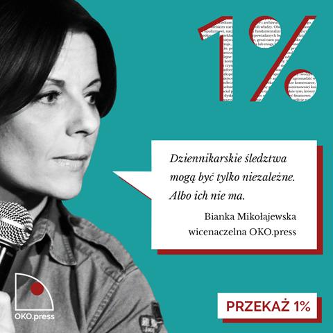Bianka Mikołajewska o śledztwach OKO.press