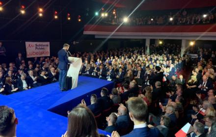 Dziennikarz OKO.press nie wpuszczony na konwencję Solidarnej Polski, chociaż miał akredytację