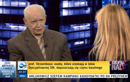 """Prof. Strzembosz o prześladowcach sędziego Juszczyszyna: """"Będą się tego bardzo wstydzić"""""""