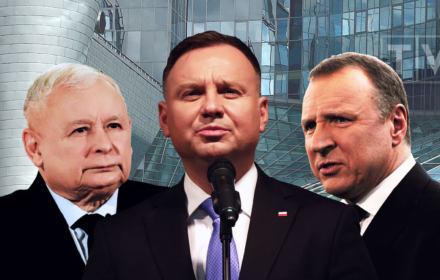 Ultimatum czy pic na wodę? Andrzej Duda gra z Kaczyńskim ustawą o miliardach dla TVP