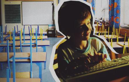 Zdalne lekcje - nauczyciele nie mają narzędzi, rodzice czasu
